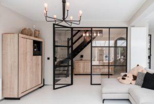 Landelijk Keuken Gietvloer : Project renovatie met epoxy en pu gietvloer in zoersel bij