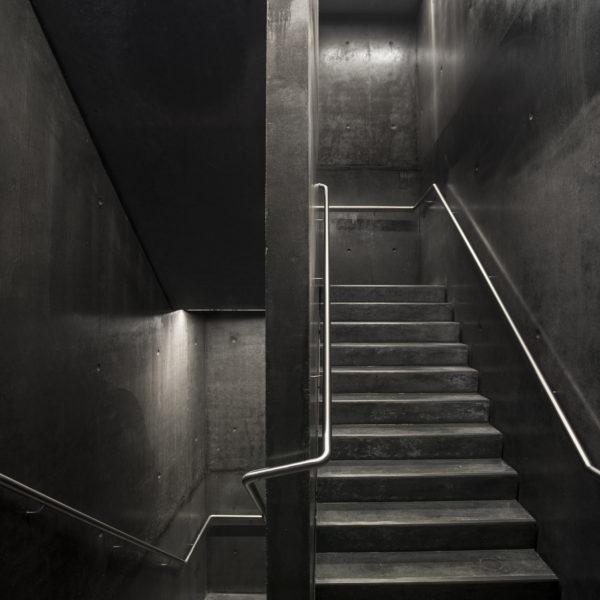 Antwerps Provinciehuis - PU gietvloer betoonlook