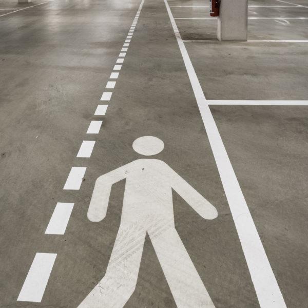 belijning fabriek parking magazijn Floorcouture