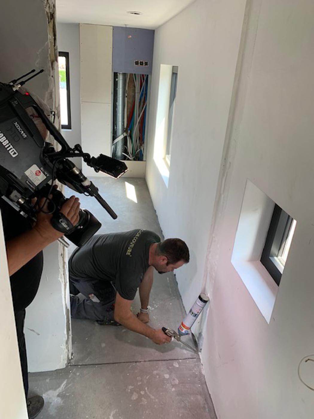 Floorcouture op Dobbit TV - Gietvloeren opname