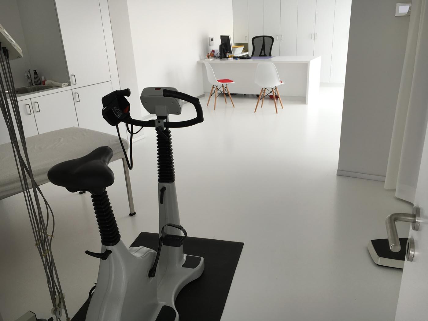 PU gietvloer - dokterspraktijk renovatie