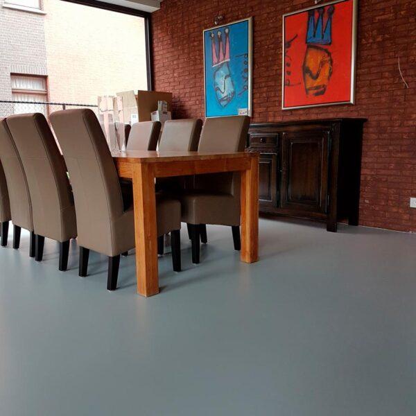 Pure Comfort + Polyurethaan gietvloer Brecht