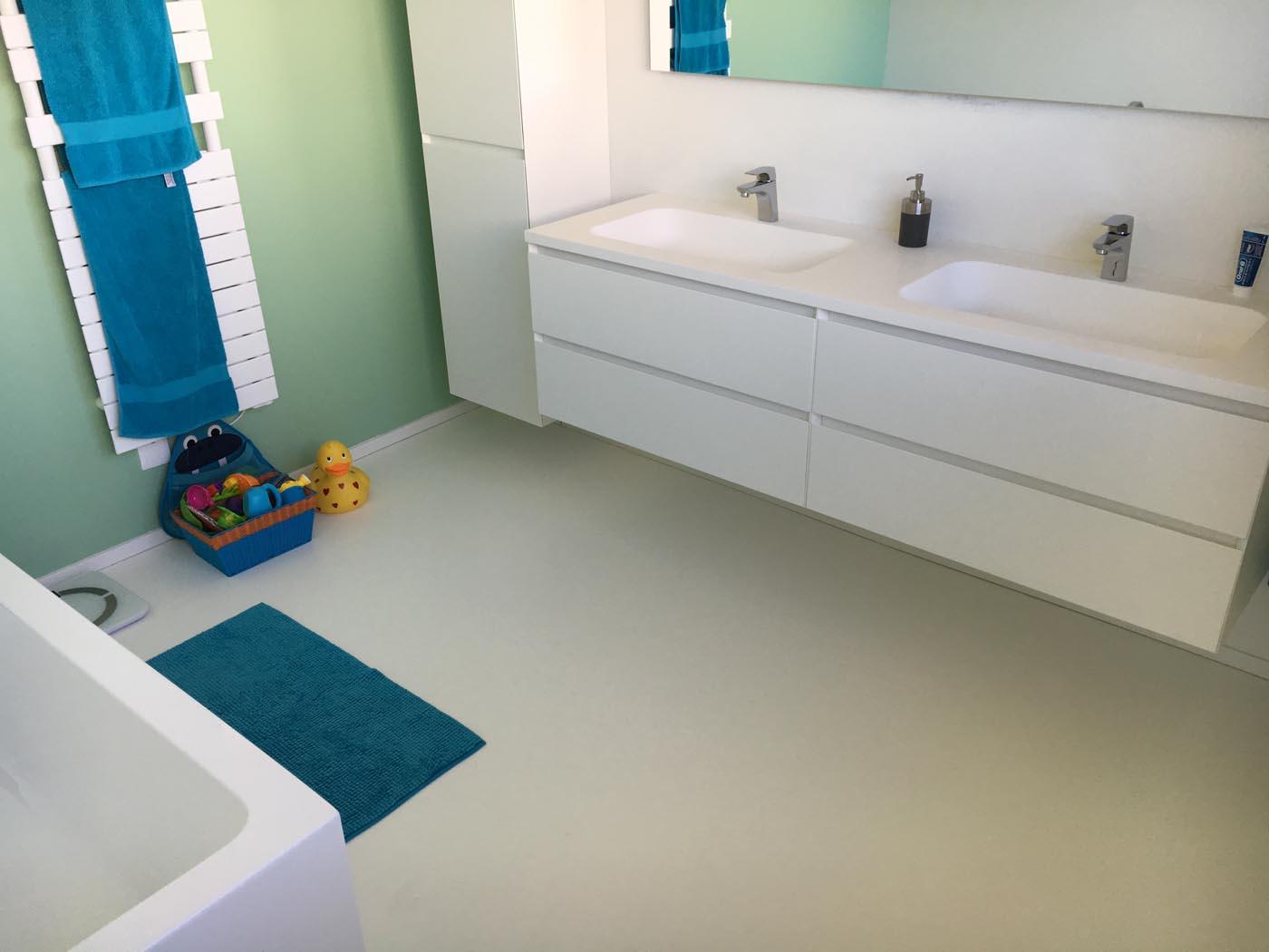 Pure Soft + betonflame en unikleur Keerbergen