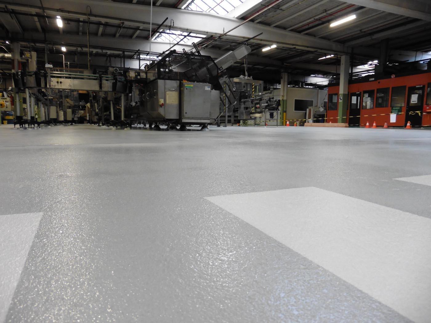 Epoxy coating Fabriekshal