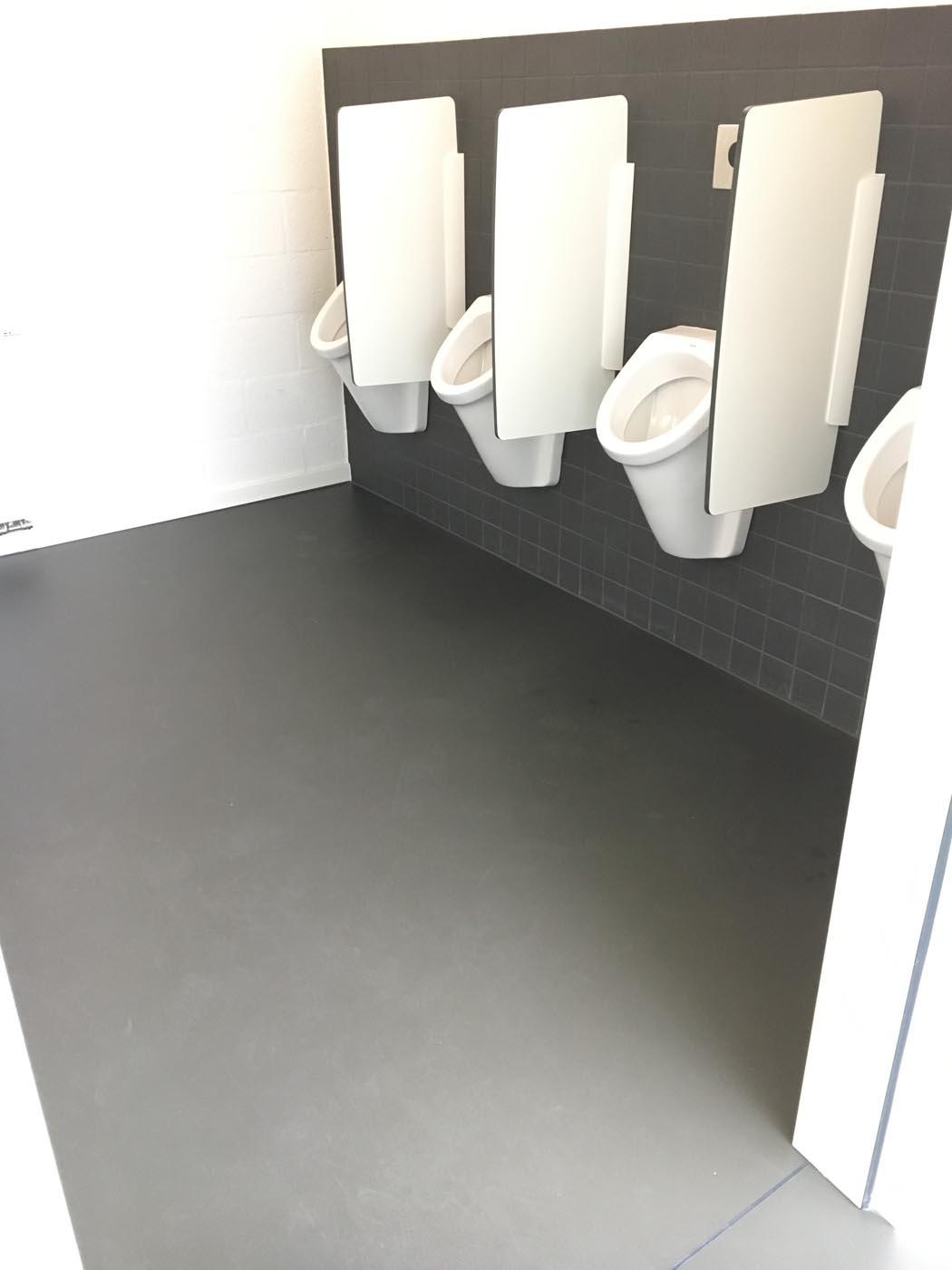 Epoxy gietvloer sanitair