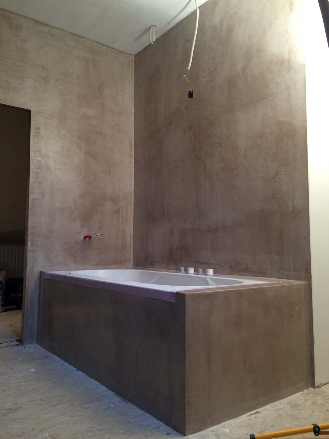Mortex badkamer douche en meubel Bonheiden