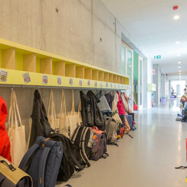 gietvloer basisschool Sint-Eduardus Schoten